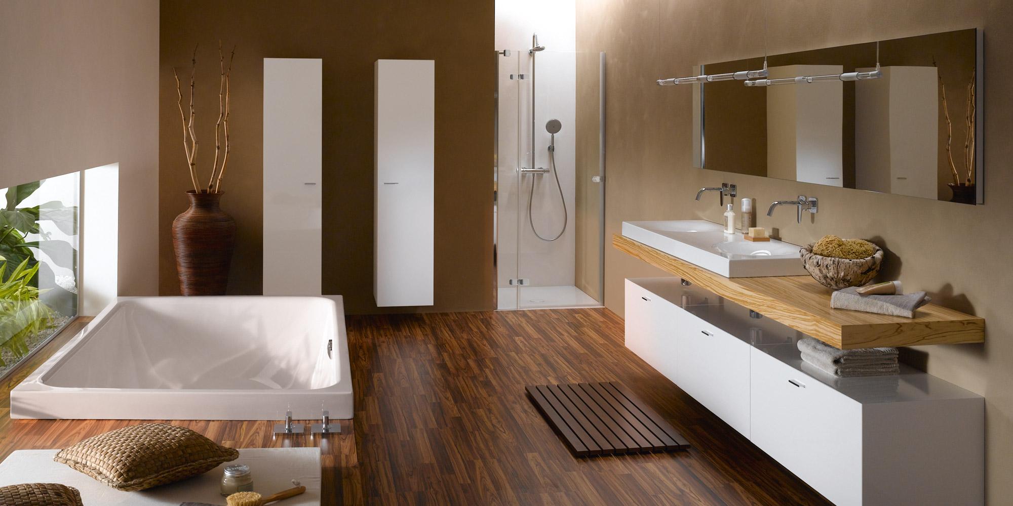badezimmer braunfliesen. Black Bedroom Furniture Sets. Home Design Ideas